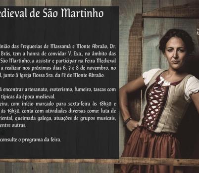 MONTE ABRAÃO - Feira Medieval de São Martinho