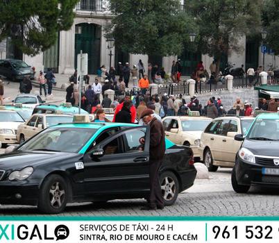Protestos dos taxistas contra a Uber em Lisboa e Porto