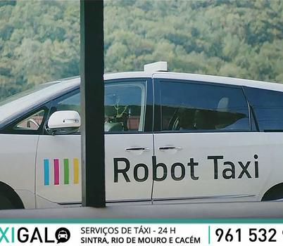 Quer um Táxi? Chame um Robot-Táxi