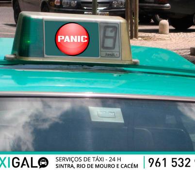 """""""Botão de pânico"""" pode chegar a 10 mil táxis"""