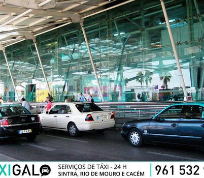 Bloqueio do aeroporto da Portela