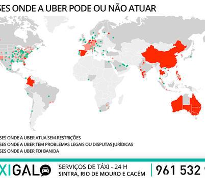 UBER continua a operar em Portugal