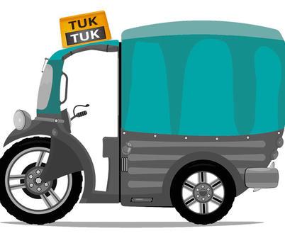 Tuk-Tuk versus táxis