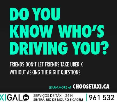 Taxistas de Toronto processam UBER