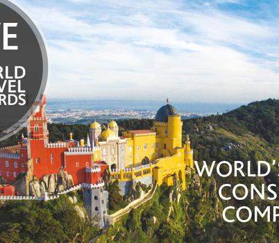 Parques de Sintra novamente nomeada para os World Travel Awards