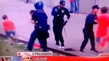 Agente da PSP que agrediu adeptos em Guimarães